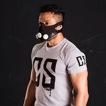 CS Maske getragen