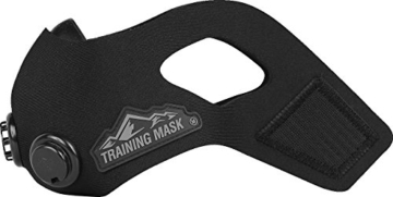 Elevation Trainingsmaske blackout, S